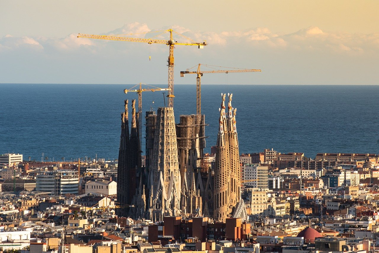 Barcelona Sagrada Familia Spain