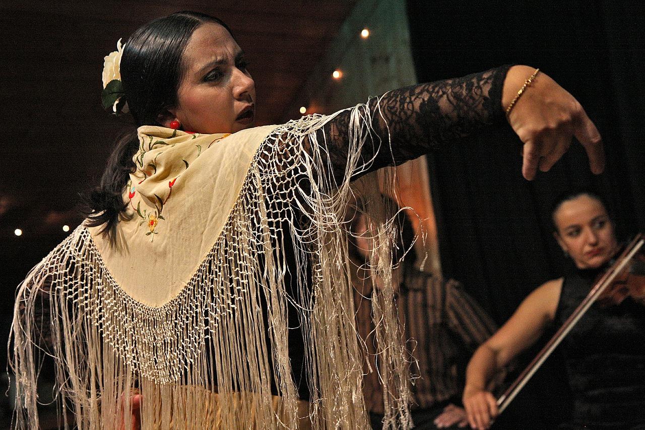 Flamenco Dance Latino Spanish