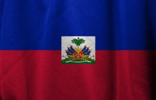 Haiti Flag National Country Nation