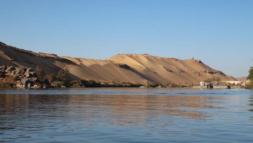 Nile Dunes Egypt Landscape Aswan