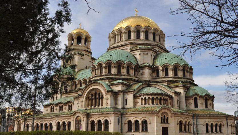 Sofia Bulgaria Cathedral Nevski